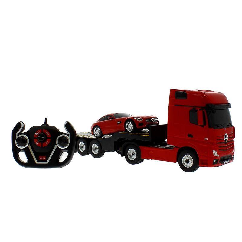 Camion-R-C-Mercedes-con-coche