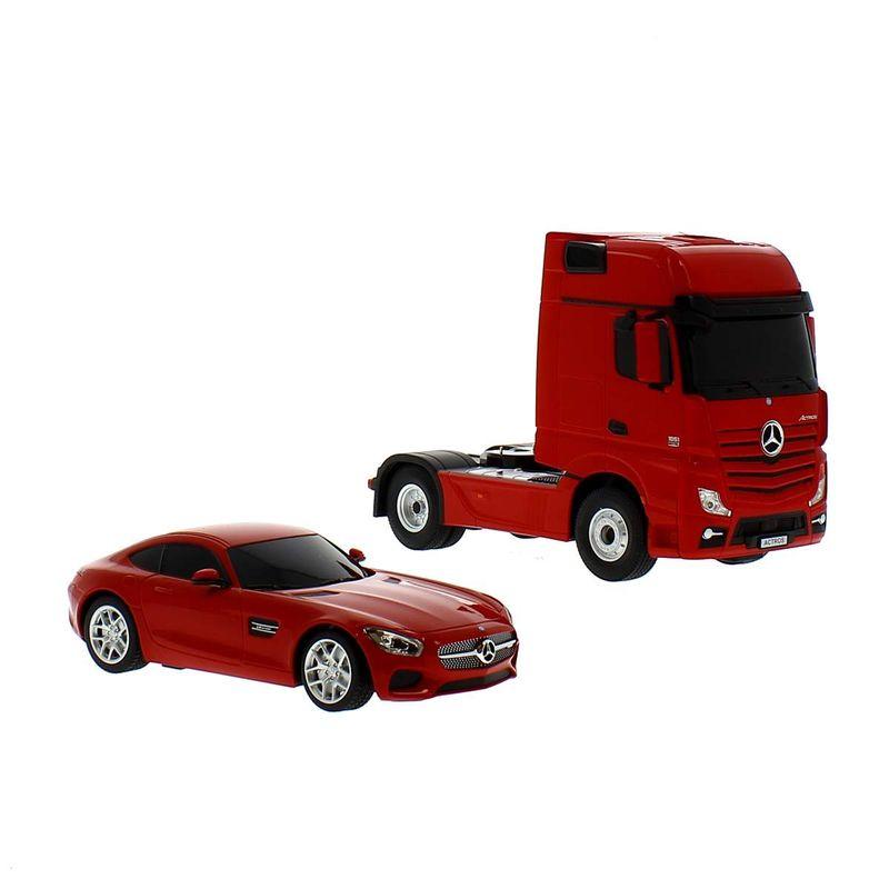 Camion-R-C-Mercedes-con-coche_2