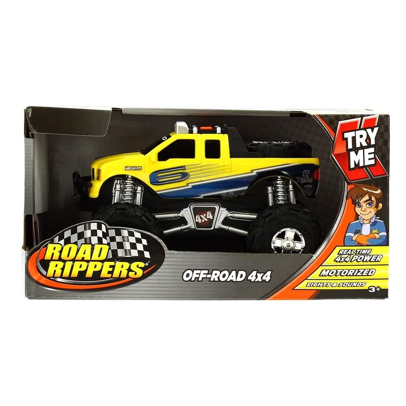 Todoterreno-Off-Road-Ford-4x4-Infantil