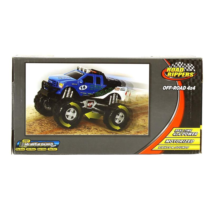 Todoterreno-Off-Road-Ford-4x4-Infantil_1