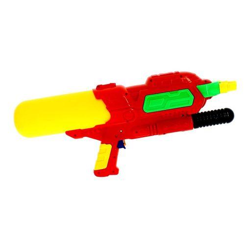 Pistola de Agua de 48 cm con 3 Cañones Roja