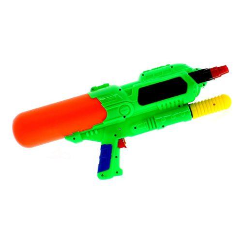 Pistola de Agua de 48 cm con 3 Cañones Verde