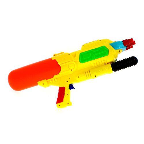 Pistola de Agua de 48 cm con 3 Cañones Amarillos