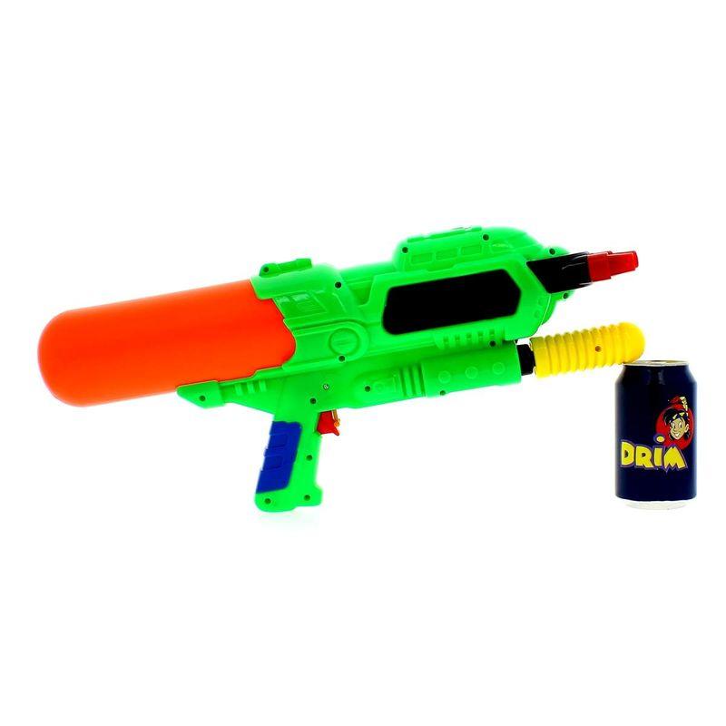 Pistola-de-Agua-de-48-cm-con-3-Cañones-Verde_1