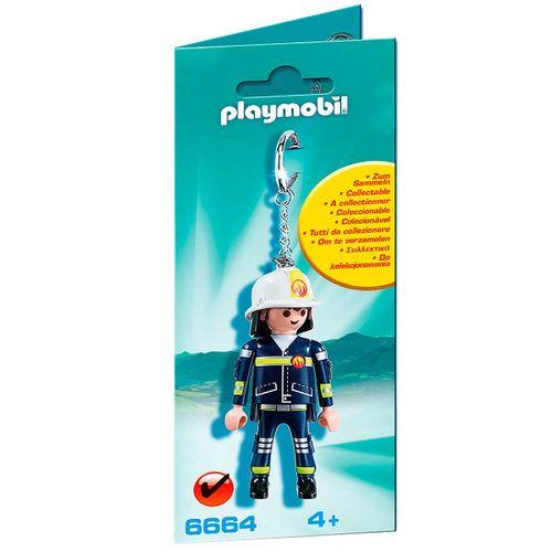 Playmobil Llavero de Bombero