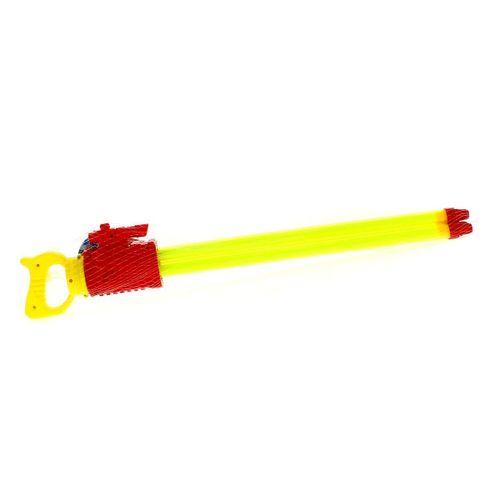 Pistola de Agua de 60 cm con 3 Cañones Roja