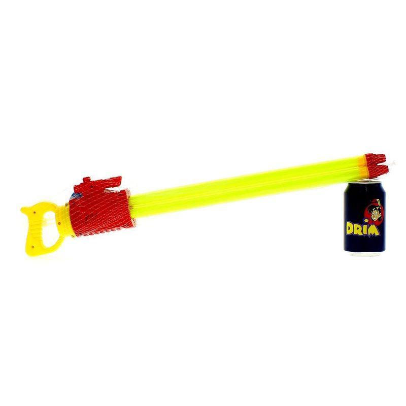 Pistola-de-Agua-de-60-cm-con-3-Cañones-Roja_1