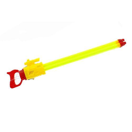 Pistola de Agua de 60 cm con 3 Cañones Amarilla