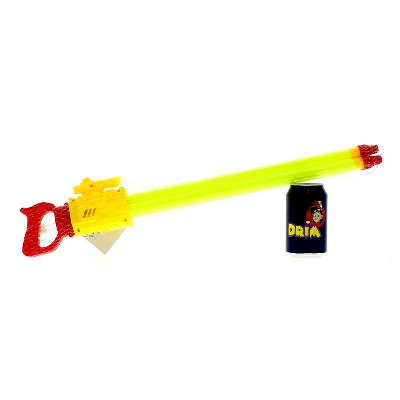 Pistola-de-Agua-de-60-cm-con-3-Cañones-Amarilla_1