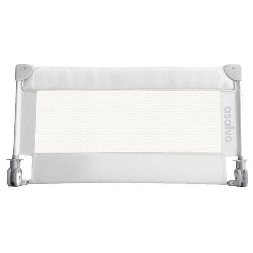 Barrera de cama abatible 90 cm Blanca