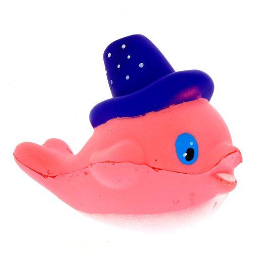 Squishy Ballena con Sombrero