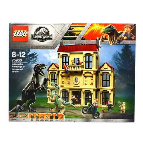 Lego Jurassic World Caos del Indorraptor en la Mansión Lockwood