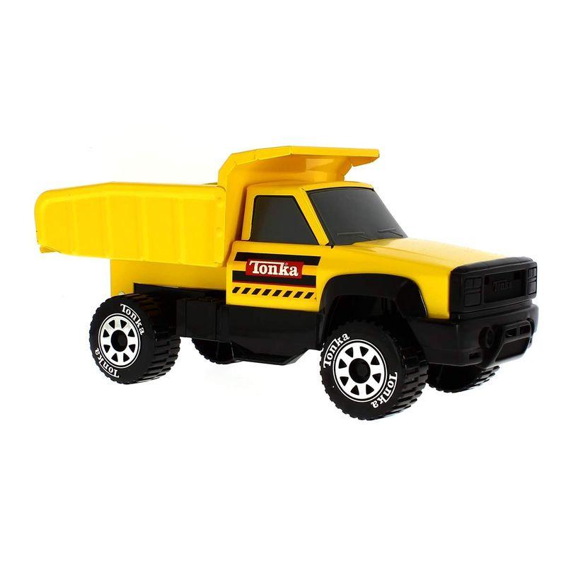 Tonka-Camion-Volquete-Amarillo