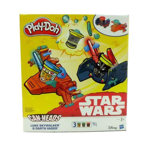 Play-Doh Star Wars Luke Skywalker & Darth Vader