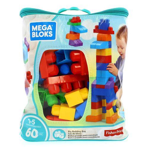 Mega Bloks bolsa clásica 60 piezas