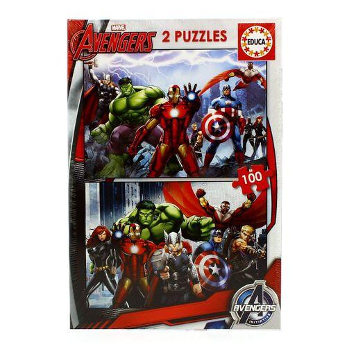 Vengadores 2 Puzzles 100 piezas