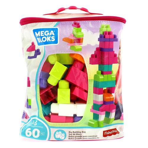 Mega Bloks First Builders ECO Bolsa 60 Rosa