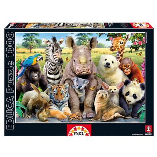 Puzzle de Foto Clase Animal de 1000 Piezas