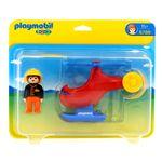 Playmobil-123-Helicoptero-de-Rescate