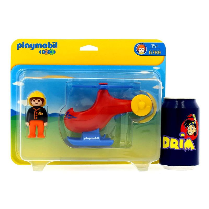 Playmobil-123-Helicoptero-de-Rescate_2