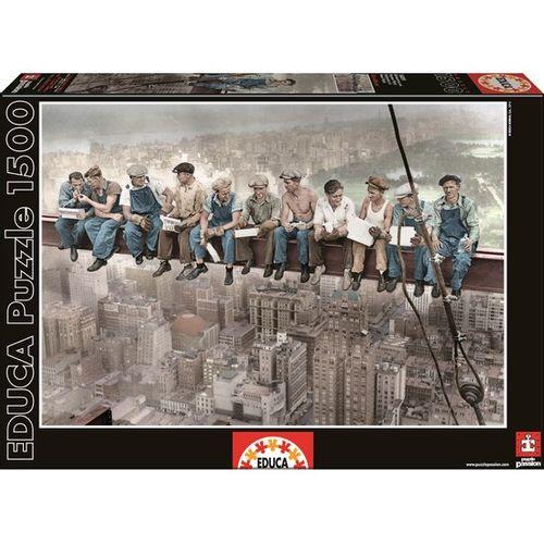 Puzzle 1500 Pzs Almuerzo en New York