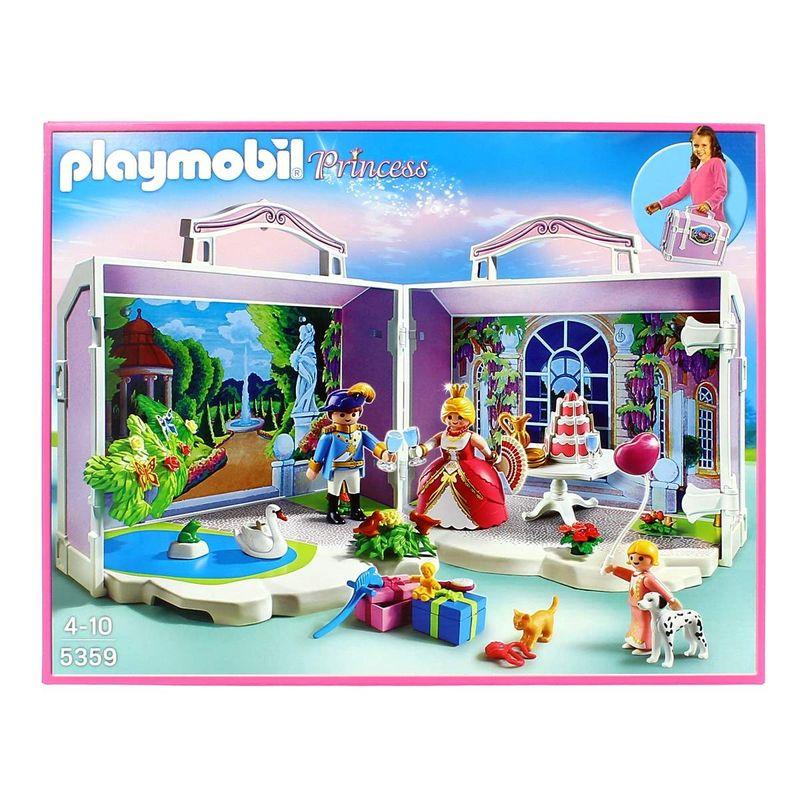 Playmobil-Princess-Maletin-Cumpleaños-Princesa
