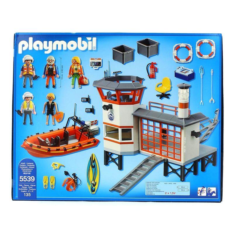 Playmobil-City-Action-Estacion-Guardacostas-con-Faro_1