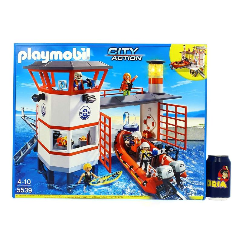 Playmobil-City-Action-Estacion-Guardacostas-con-Faro_2