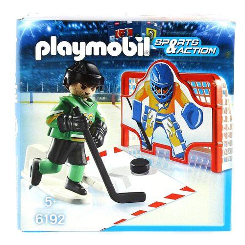 Playmobil Sports & Action Portería Hockey sobre Hielo