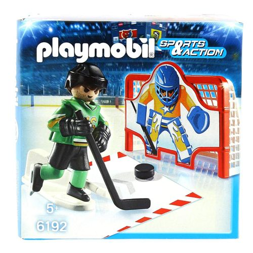 Playmobil Sports & Action Portería Hockey sobre Hielo