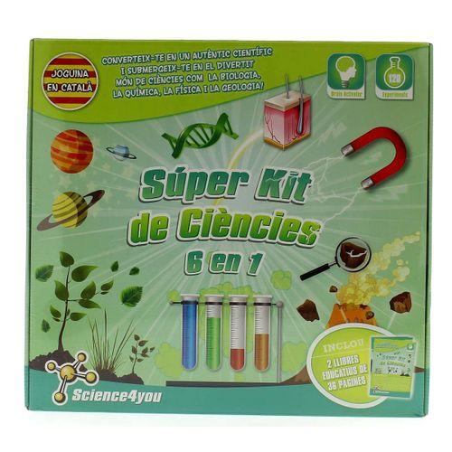 Súper Kit de Ciencia 6 en 1 en Catalán