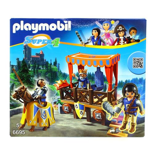 Playmobil Super4 Tribuna Real con Alex