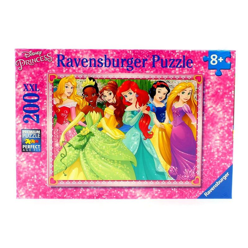 Princesas-Disney-Puzzle--200-Piezas-XXL
