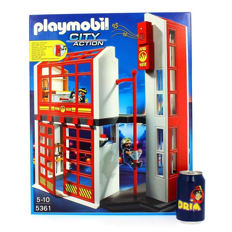 Playmobil-Estacion-de-Bomberos-con-Alarma_4