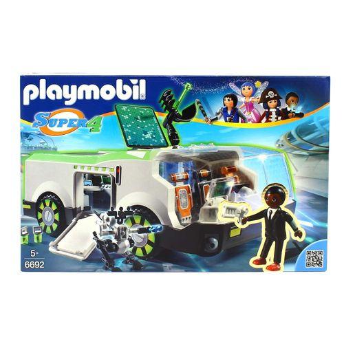 Playmobil Super4 Camaleón con Gene
