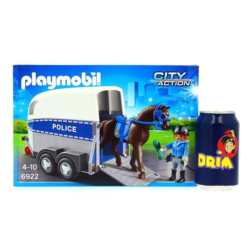 Playmobil-Policia-con-Caballo-y-Remolque_1