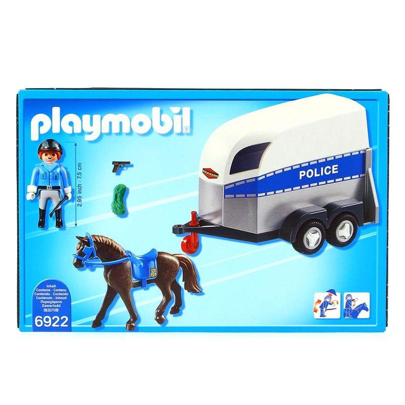 Playmobil-Policia-con-Caballo-y-Remolque_3