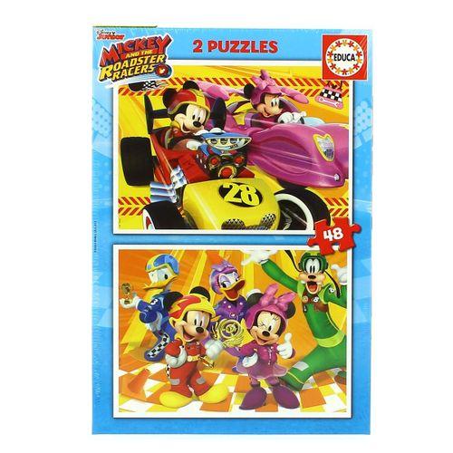 Mickey y Los Superpilotos 2 Puzzles de 48 Piezas