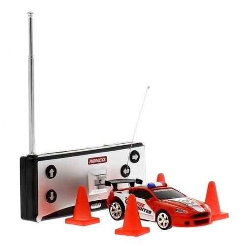 Mini coche RC Rojo Flash Light