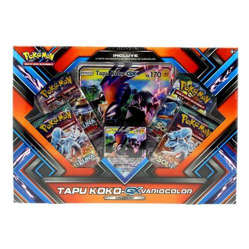 Caja Pokemon Shiny Tapu KOKO GX