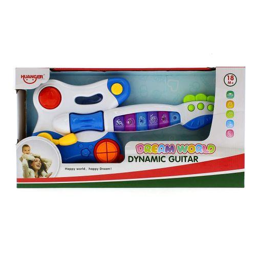 Guitarra Infantil Musical Azul