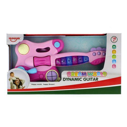 Guitarra Infantil Musical Rosa