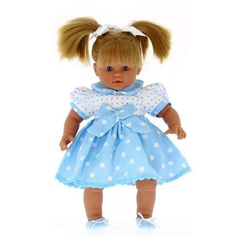 Lara la Muñeca Bebé Llorona con Vestidito Azul
