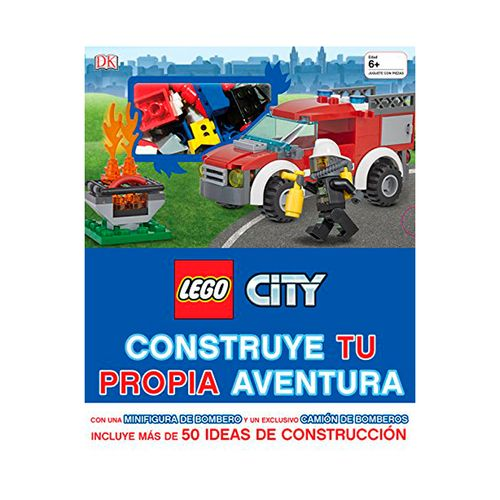 Libro Lego City: Construye Tu Propia Aventura