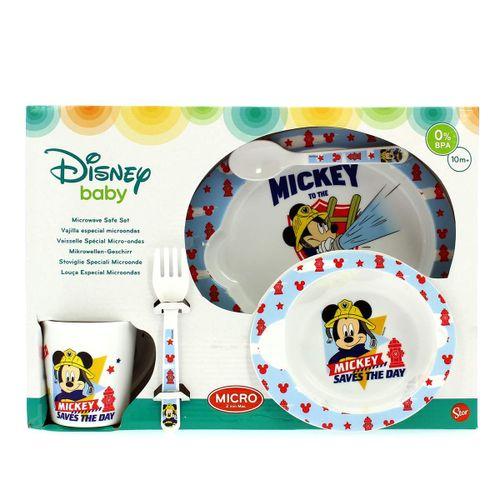 Vajilla para Microondas 5 Piezas Mickey