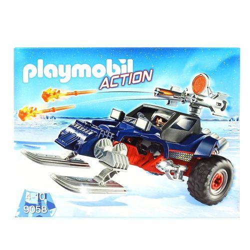 Playmobil Action Racer con Pirata de Hielo