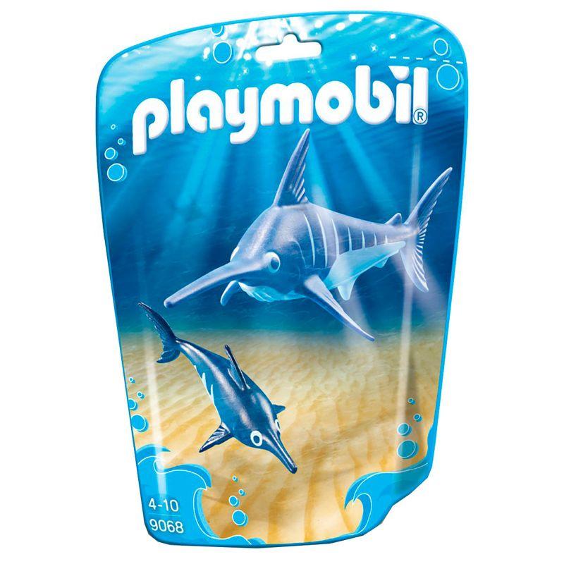 Playmobil-Family-Fun-Pez-Espada-con-Bebe