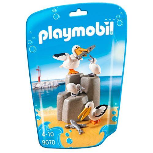Playmobil Family Fun Familia de Pelícanos