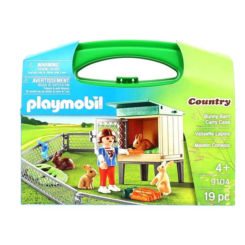 Playmobil-Country-Maletin-Conejos