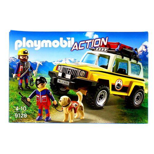 Playmobil Action Vehículo Rescate de Montaña